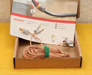 Cables HIFI Oelbach para altavoces