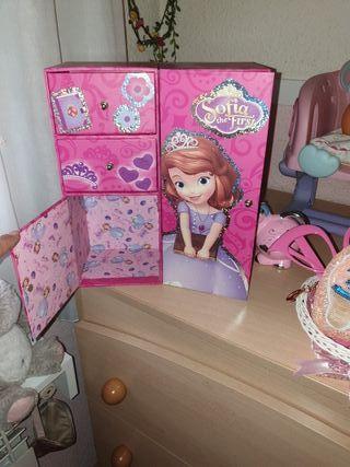 princesa sofia taquilla joyero