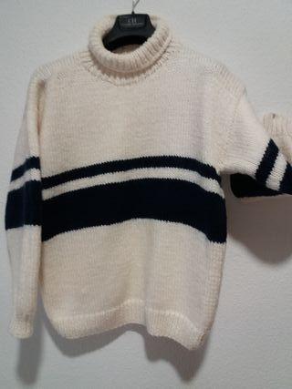 Laia. jersey lana grueso hecho a mano