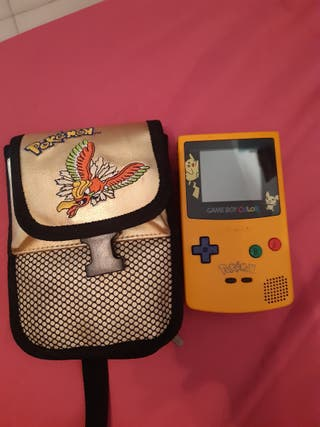 consola game boy color edición pikachu