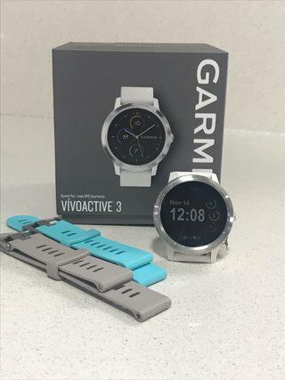 Garmin Vivoactive 3 (+2 correas originales)