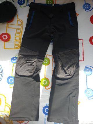 Pantalón montaña niño talla 10