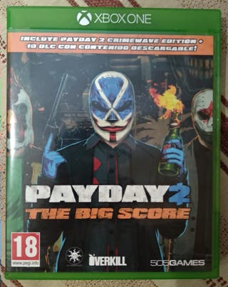 Pay Day 2 para Xbox One