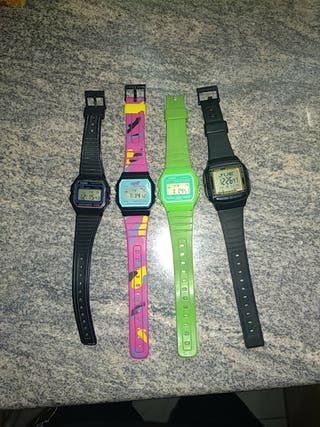 vendo relojes Casio