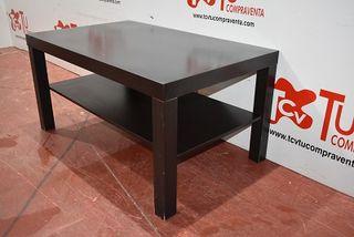 Mesa centro con balda wengue
