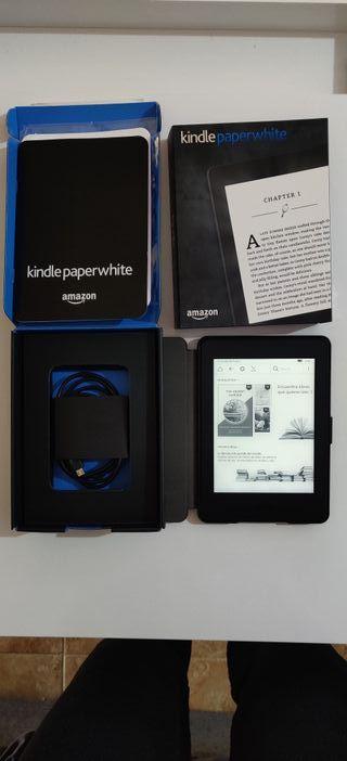 Kindle paperwhite(7a generación) con funda