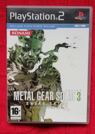METAL GEAR SOLID 3 PS2 + GUIA