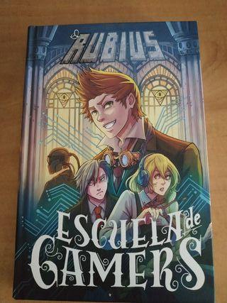 Libro el Rubius: Escuela de Gamers
