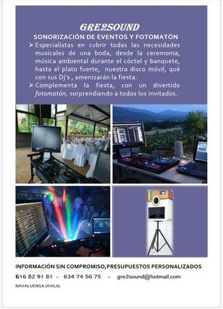 Fotomatón para bodas y eventos, disco móvil