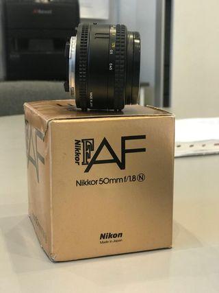 Objetivo para cámara Nikon