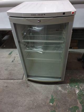 Armario Refrigerado de 1 Puerta de Cristal