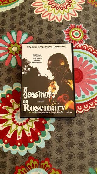 DVD El asesinato de Rosemary,1981