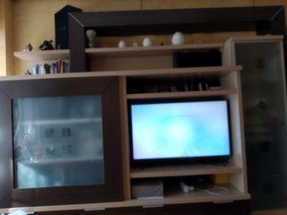 armario salón y estantería