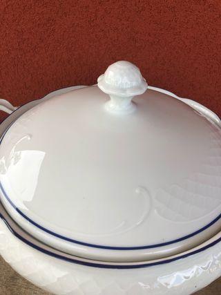 Sopera porcelana Bidasoa
