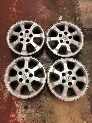 Llantas Opel 15 pulgafas