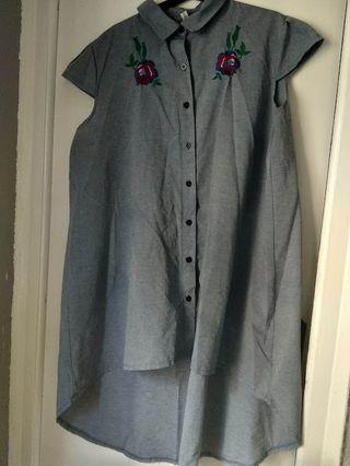 Camiseta larga 2XL