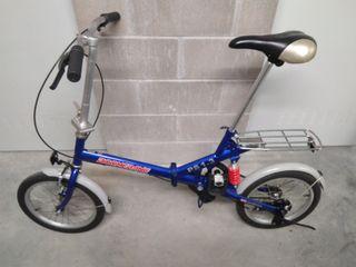 Bicicleta Plegable BOOMERANG.