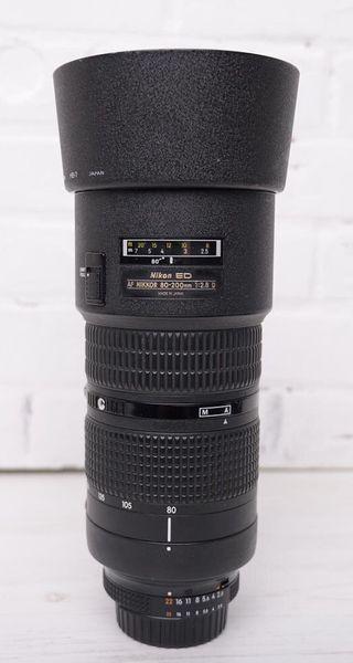 Zoom Nikon AF-D 80/200 F:2,8