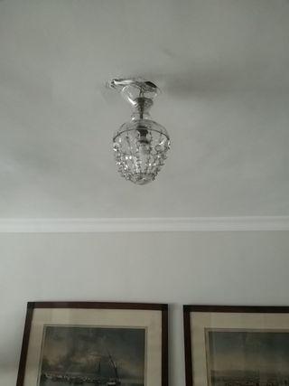 lámparas cristal antiguas, 30 CM