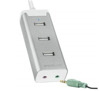 USB con 3 Puertos y Tarjeta de Sonido integrada