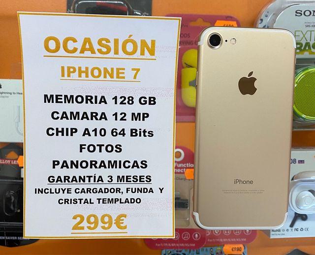 ¡OFERTA! IPHONE 7 128Gb GOLD