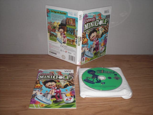 Carnival mini golf - nintendo wii pal