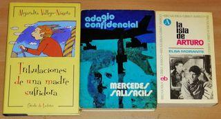 Tres libros de ficción
