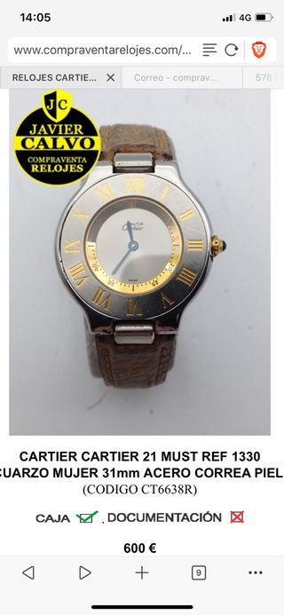 Cartier Must 21