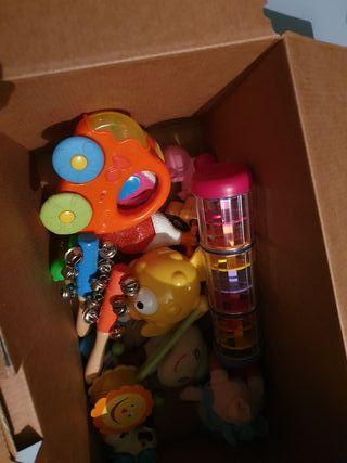 caja de juguetes bebe
