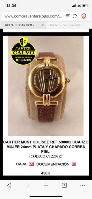 Cartier Colisee mujer