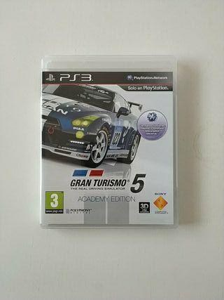 Gran Turismo 5 academy editon PS3