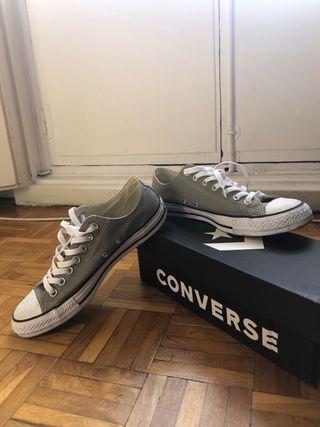 Converse All Star bajas verdes