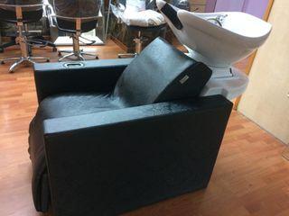 sillón lavacabezas reclinables con masaje