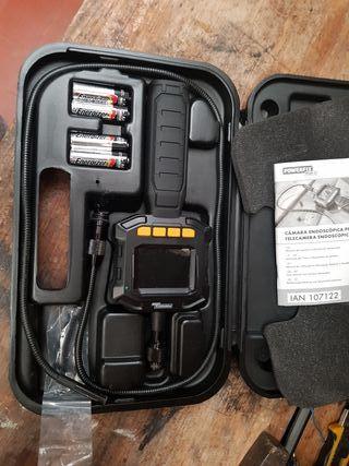 cámara endoscopica