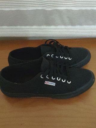 SUPERGA Zapatillas 2750 talla 43 Negras