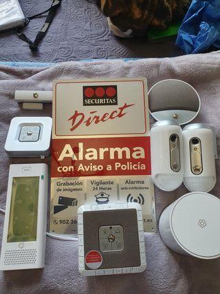 Traspaso Contrato Alarma SECURITAS DIRECT