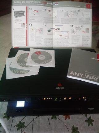 Escaner (impresora) olivetti any_way