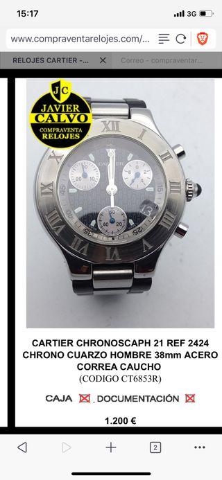 Cartier Chronoscaph