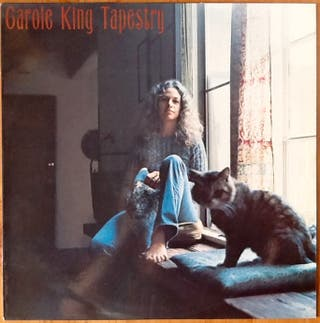 "CAROLE KING ""TAPESTRY"" LP"