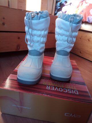 Botas descanso ski