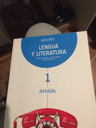 Libro 1 de bachillerato Anaya buen estado.