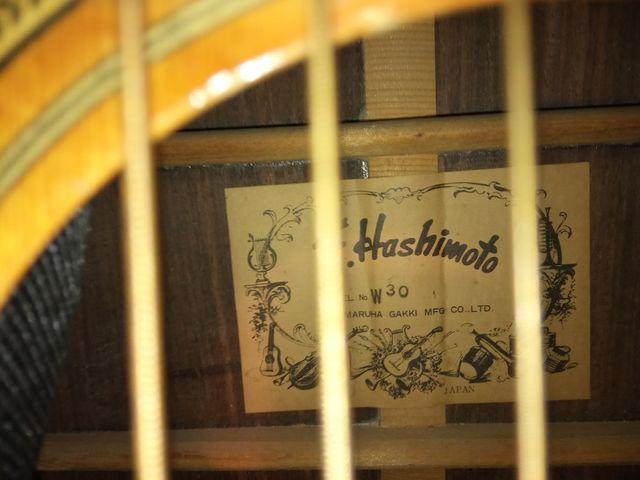 GUITARRA F. HASHIMOTO W30, W330 ORIGINAL