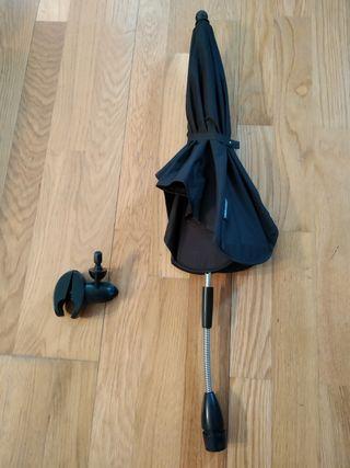 Sombrilla de carro + soporte