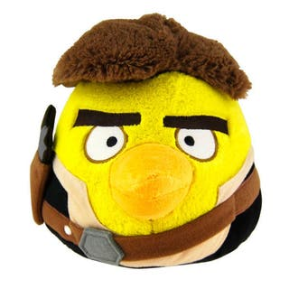 Peluche Han Solo Angry Birds Star Wars 13cm