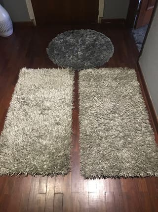 3 alfombras juntas o separadas