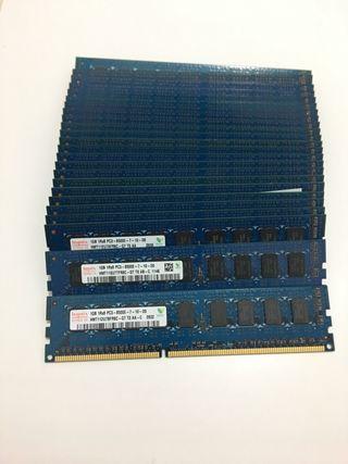 Lote 25 módulos ddr3 1gb memoria ram