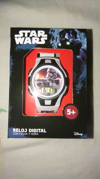 Reloj pulsera Star Wars digital PRECINTADO