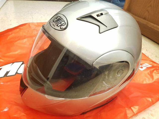 cascos de moto con funda