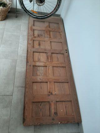 Puertas pino mobila mazizo