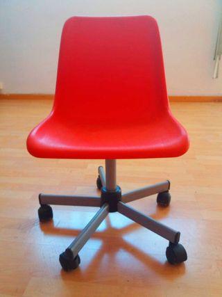 Silla escritorio con ruedas plastico